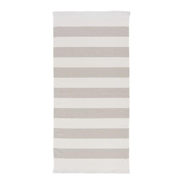 Kremowy ręcznik Aquanova Jolie, 70x140cm