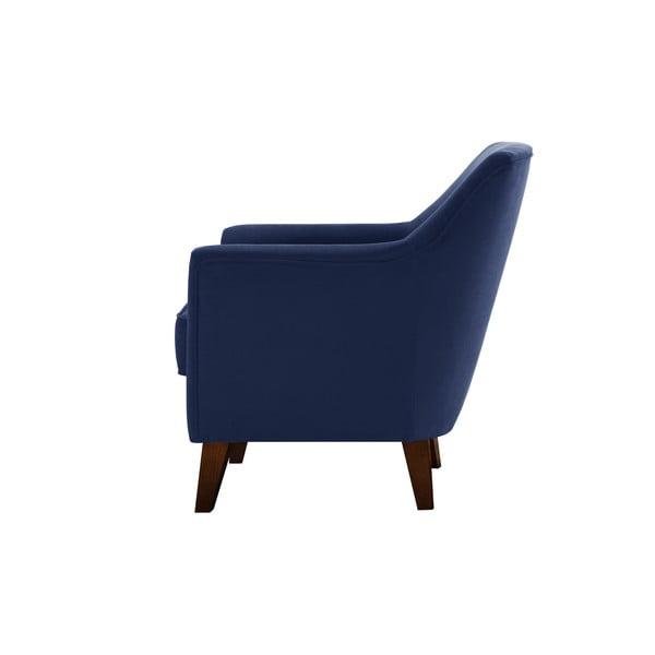 Granatowy fotel Jalouse Maison Kylie