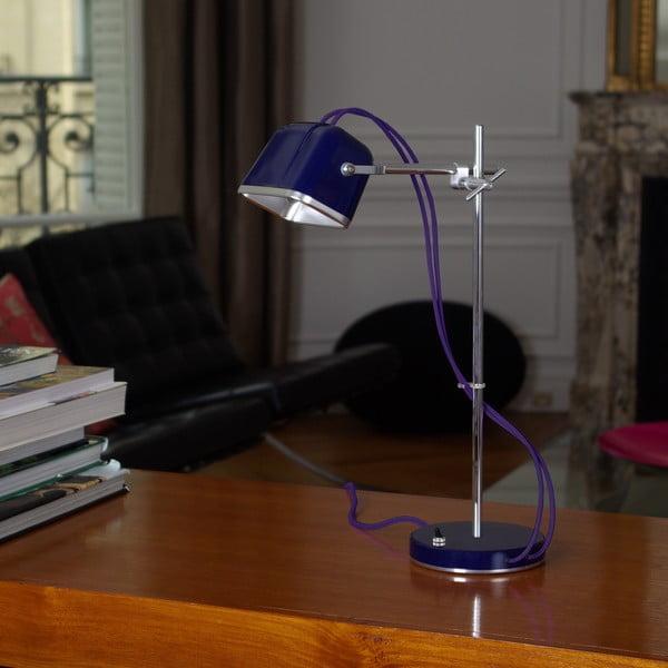 Lampa stołowa Mob, fioletowa