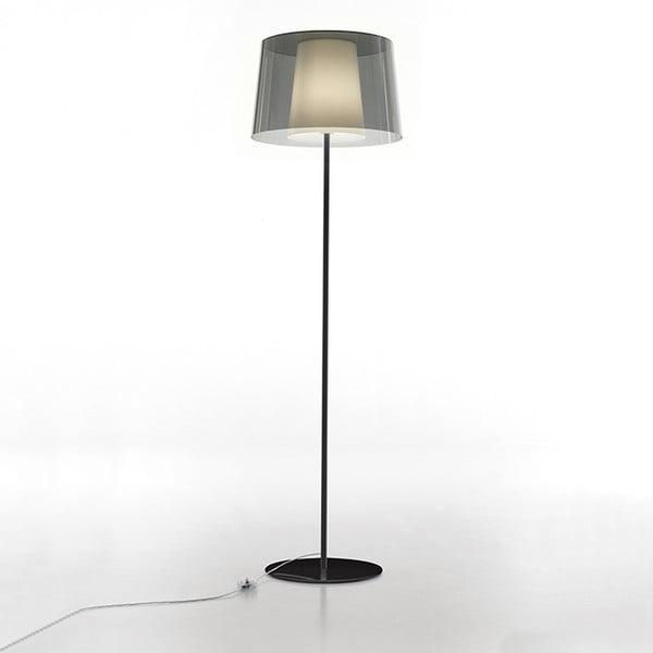 Lampa stojąca Pedrali L001ST/BA, szara półprzeźroczysta