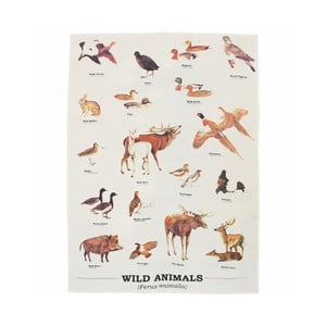 Ścierka Gift Republic Wild Animals Multi
