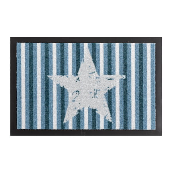 Wycieraczka Zala Living Star Stripes Blue, 40x60 cm