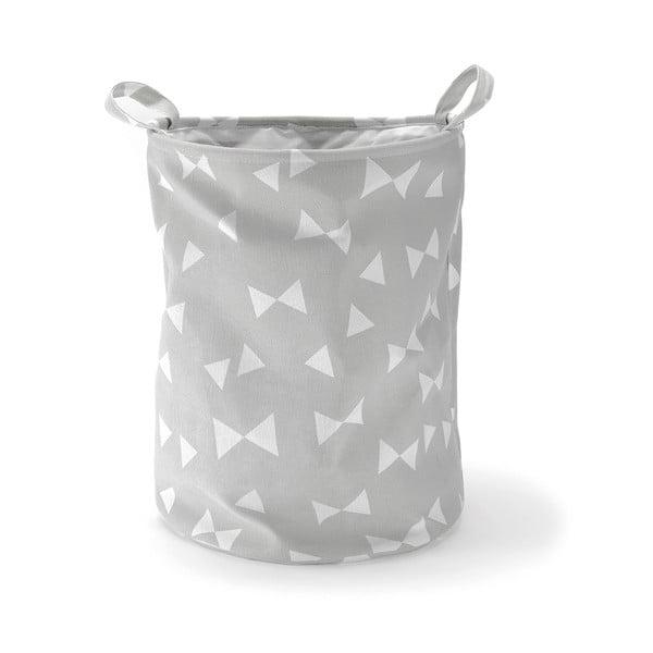 Kosz z materiału Small Bows Grey