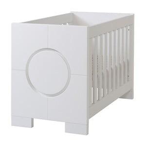 Białe łóżeczko dziecięce Núvol Olivia, 60x120cm