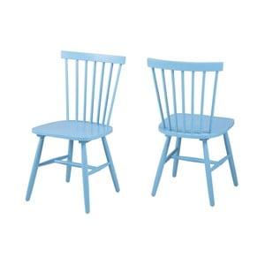Niebieskie krzesło Actona Riano