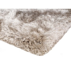 Kudłaty dywan Shaggy Plush Sand, 70x140 cm