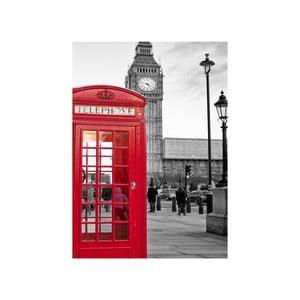 Obraz W Londynie, 45x70 cm