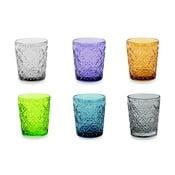 Zestaw 6 kolorowych szklanek Villa d'Este Marrakech, 240 ml