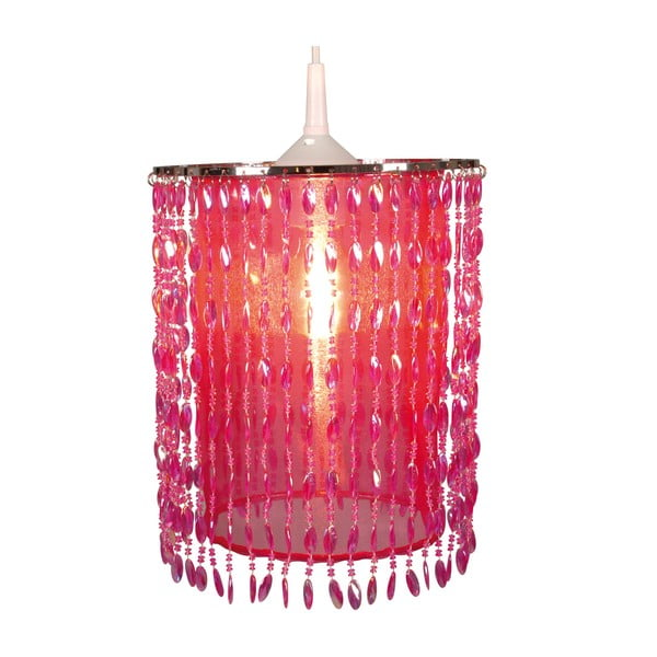 Lampa wisząca Deko, różowa