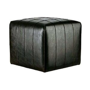 Puf ze skóry wegańskiej Power 05, 40 cm