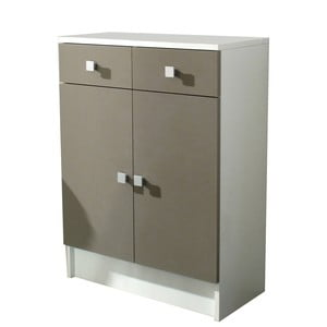 Beżowa szafka łazienkowa 13Casa Click