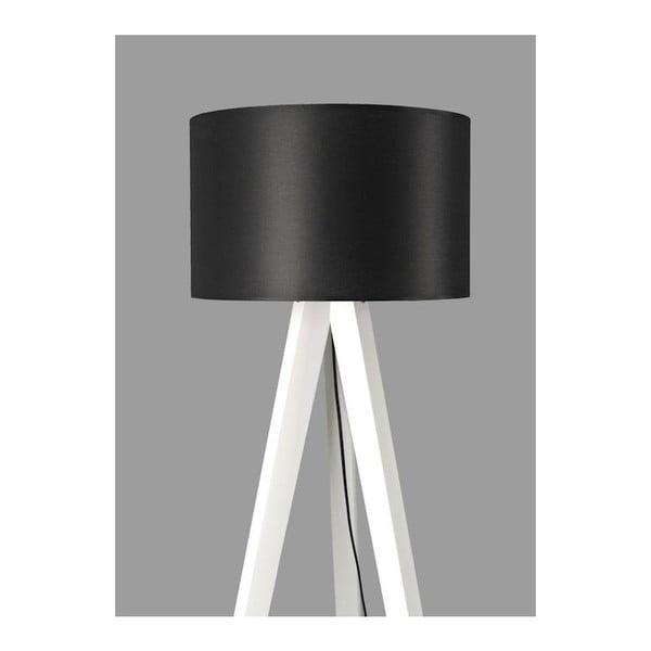 Lampa stojąca Tripod Black/White