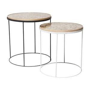 Zestaw 2 stolików Kare Design Ciocco