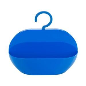 Niebieski pojemnik wiszący pod prysznic Wenko Cocktail Blue