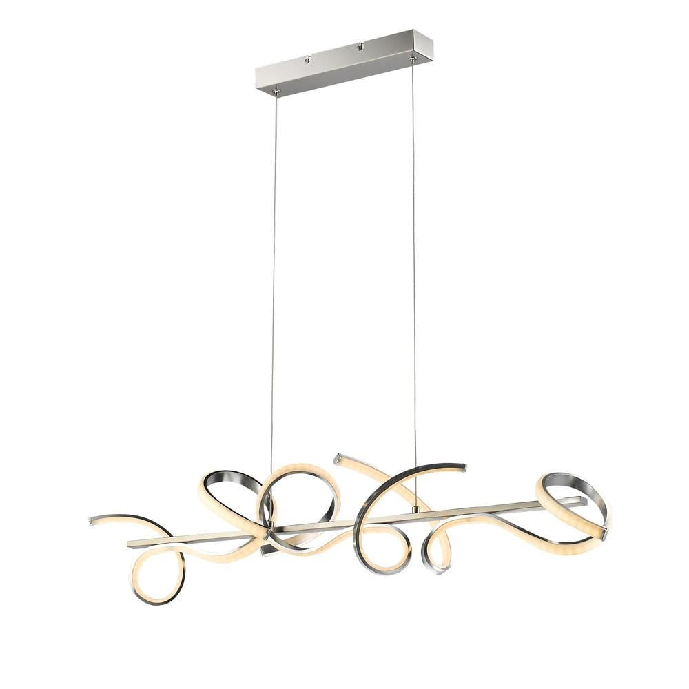 Lampa wisząca LED Trio Messina, dł. 1 m