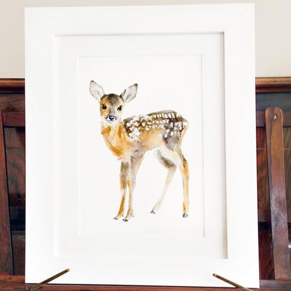 Plakat Baby Deer A3