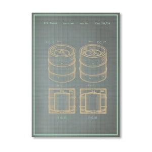Plakat Keg II, 30x42 cm
