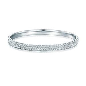 Damska bransoletka w kolorze srebra Runaway Simple
