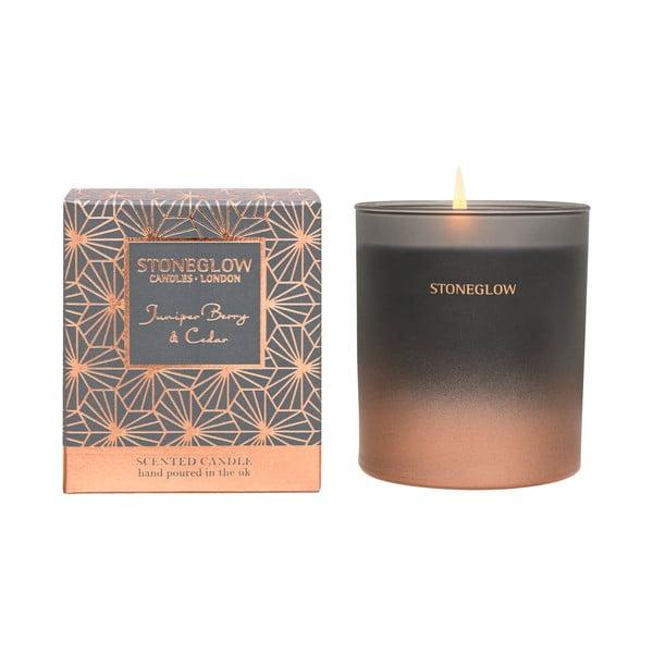 Świeczka o zapachu jałowca i cedru Stoneglow
