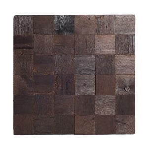 Dekoracja ścienna Wooden Brown, 60x60 cm