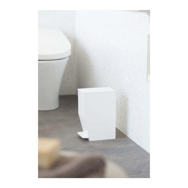 Biały łazienkowy kosz na śmieci YAMAZAKI