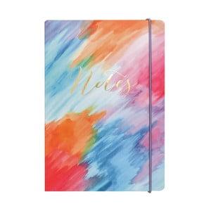 Notatnik A5 Portico Designs Colourwash, 160 str.