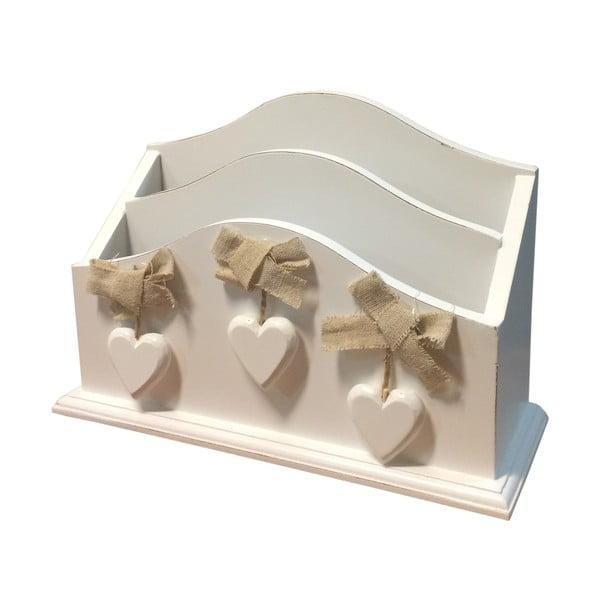 Biała pudełko na listy Bolzonella