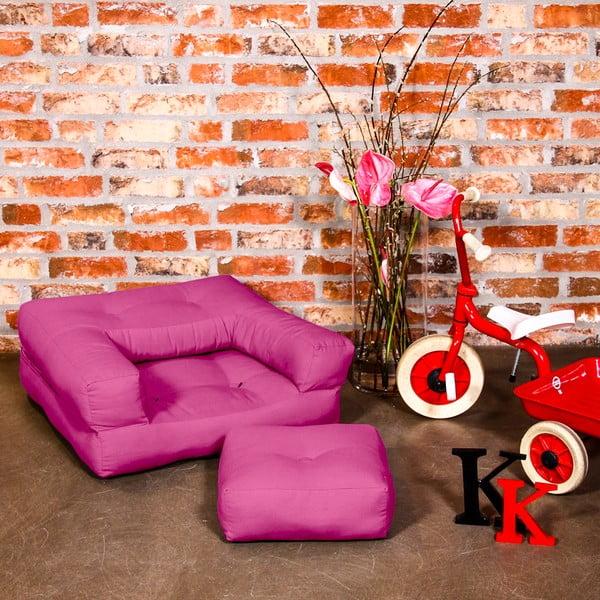 Fotel dziecięcy Karup Baby Cube Pink