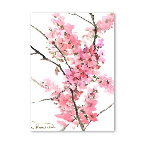 Plakat Flowers Pink (projekt Suren Nersisyan)