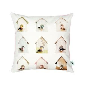 Bawełniana poszewka na poduszkę Studio Ditte Birdhouse, 50x50 cm