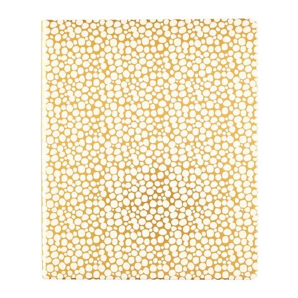 Notes A5 w kolorze złota z kieszonką Busy B