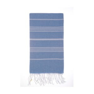Ręcznik Hamam Cesme Blue, 100x180 cm