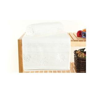 Zestaw 2 ręczników Selen White, 70x140 cm