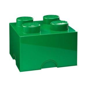 Zielony pojemnik kwadratowy LEGO®