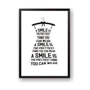Plakat Nord & Co A Smile Is, 21x29 cm