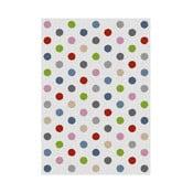 Dywan Universal Norge White Dots, 57x110 cm