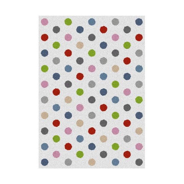 Dywan Universal Norge White Dots, 160x230 cm