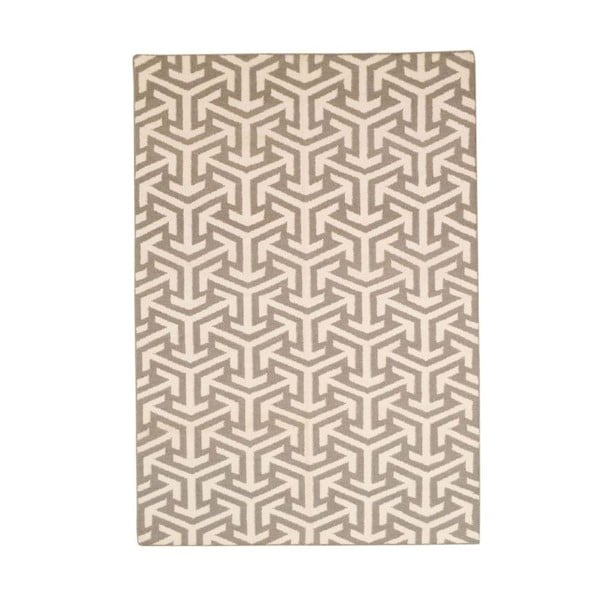 Ręcznie tkany dywan Kilim 305 no2 Grey, 140x200 cm