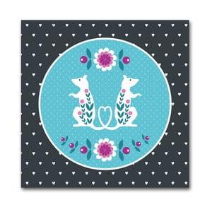 Plakat Niebieskie szczury
