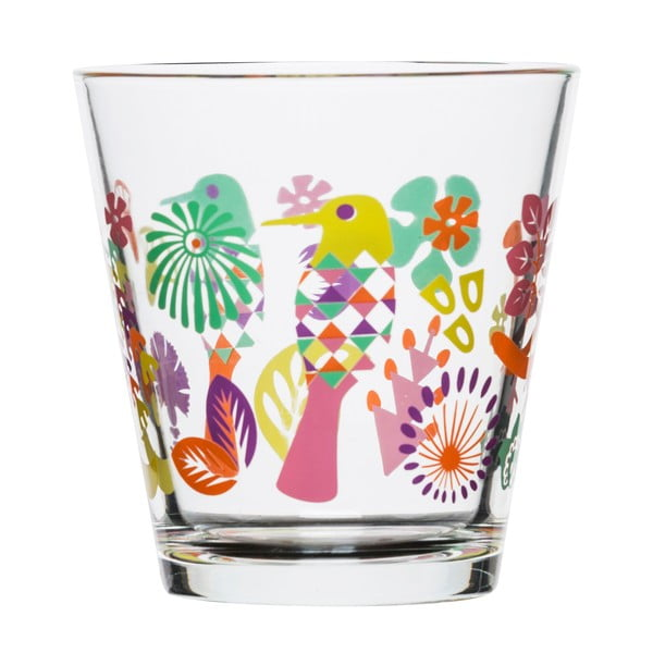 Zastaw 4 szklanek Fantasy 200 ml, fiolet