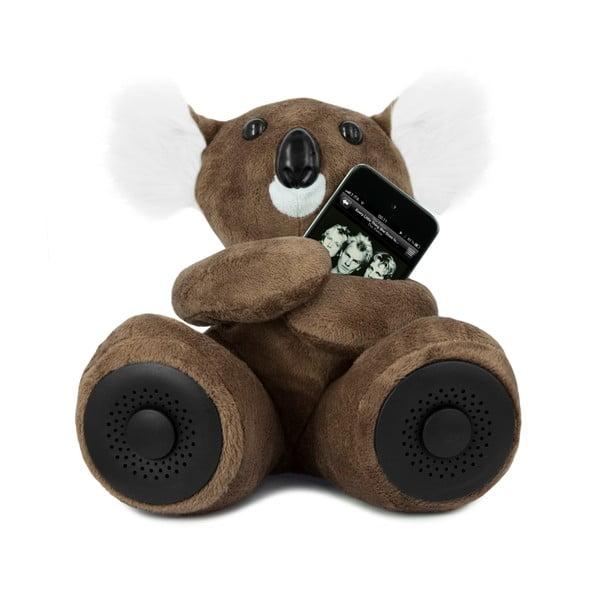 Koala Hi-Koali z wbudowanym głośnikiem, brązowa