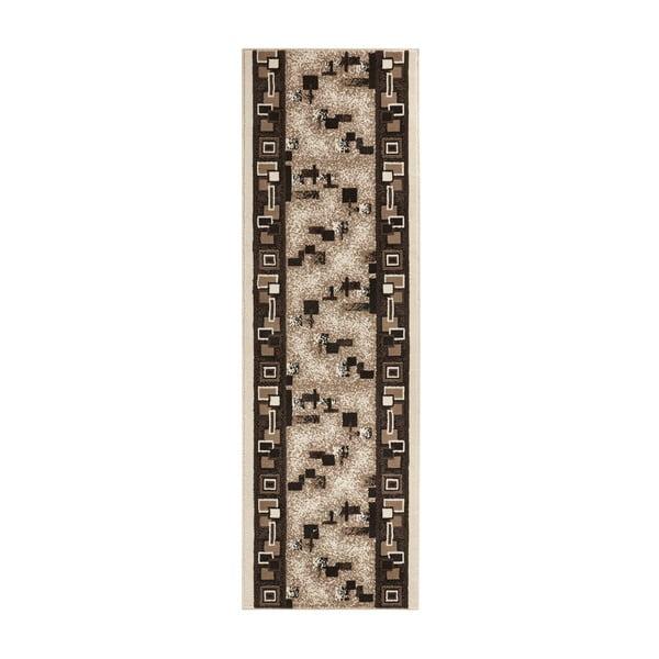 Dywan Basic Retro, 80x450 cm, kremowy