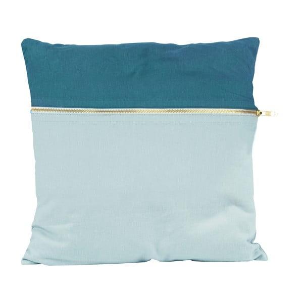 Poduszka Present Time Duo Blue, 45x45 cm