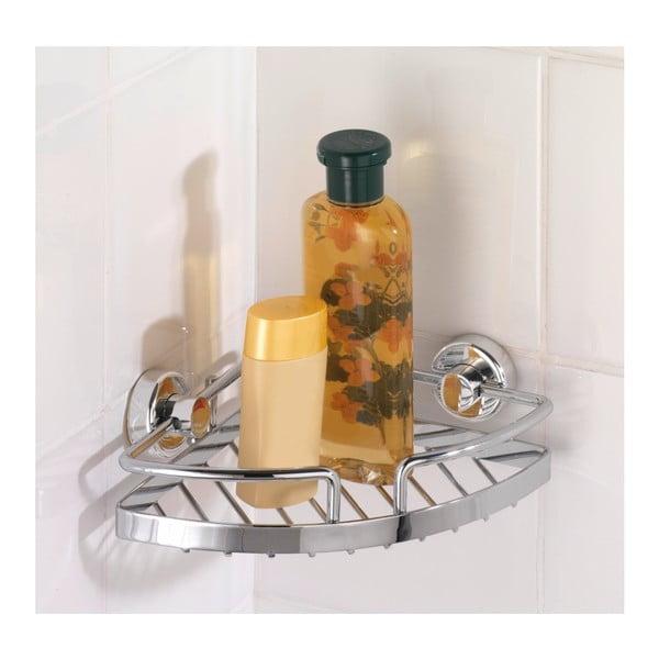 Samoprzyczepna mała półka narożna na kosmetyki Wenko Power-Loc Sion