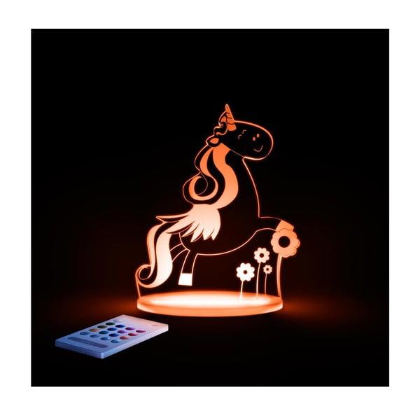 Dziecięca lampka nocna LED Aloka Jednorożec