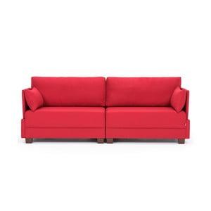 Czerwona sofa Balcab Home Lucy