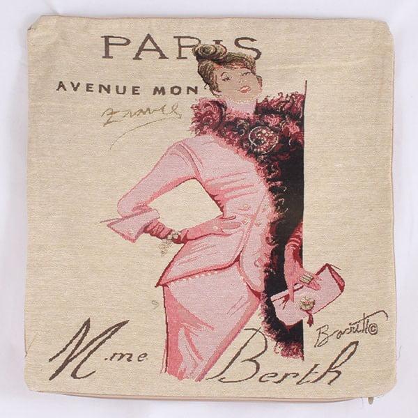 Poszewka na poduszkę Paris Avenue, 45x45 cm