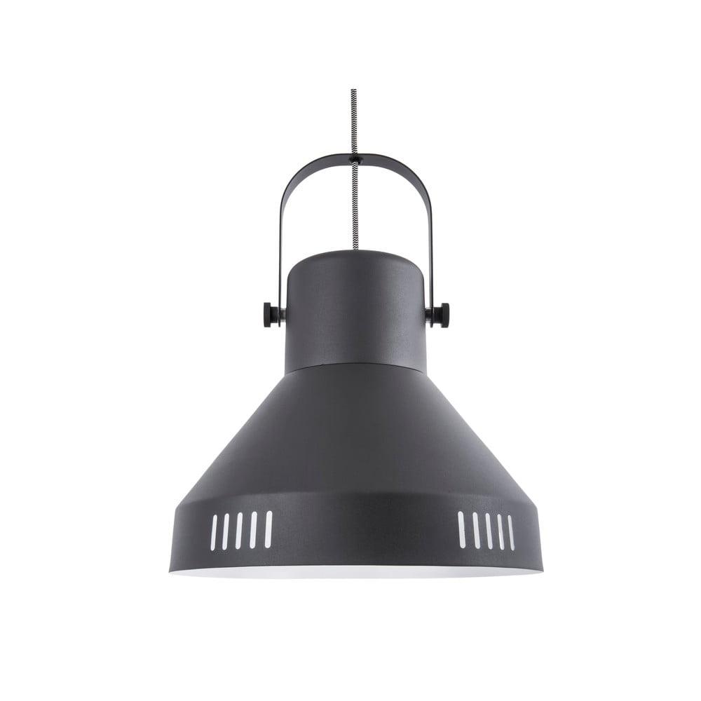 Czarna lampa wisząca Leitmotiv Tuned Iron,ø35cm