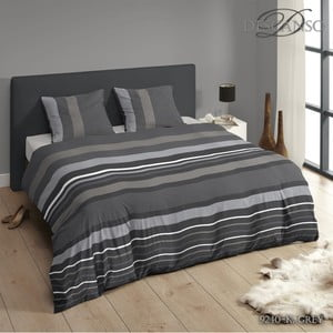 Pościel Descanso Linen Grey, 200x200 cm