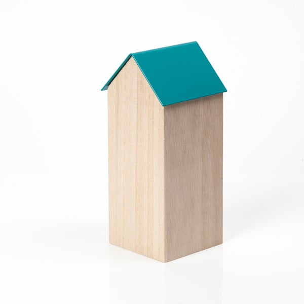 Niebieskie pudełko House Large